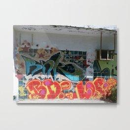 graffiti 0 Metal Print