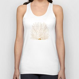 Let The Sunshine In Unisex Tanktop