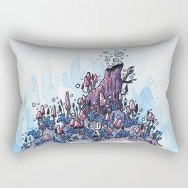 Ninja and the wood Rectangular Pillow