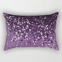 PURPLE Glitter Dream #1 #shiny #decor #art #society6 Rectangular Pillow