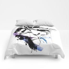 Shibari - Japanese BDSM Art Painting #10 Comforters