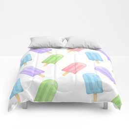 Popsicle Pattern Comforters