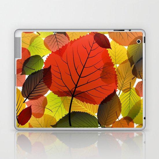 AUTUMN IS BACK Laptop & iPad Skin