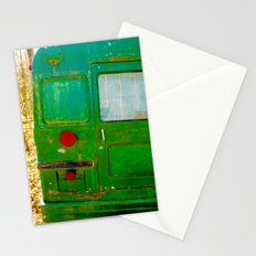 The Bus back end mystery..... Stationery Cards