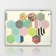 Florals and Stripes Laptop & iPad Skin