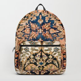 Ferahan Arak  Antique West Persian Rug Print Backpack