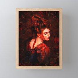 FLUTTER IN THE GARDEN 064 Framed Mini Art Print