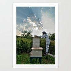 Bee Keeper,  Upstate New York Art Print