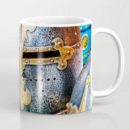 Medieval Knight Or Crusader Helmets Coffee Mug