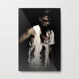 Teen Zombie Metal Print