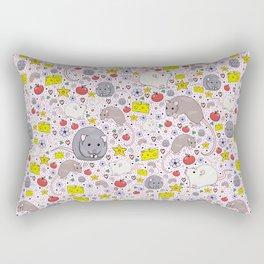 Fancy Rats Rectangular Pillow