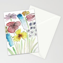 Flowers of Whimsy Stationery Cards