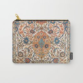 Isfahan Antique Central Persian Carpet Print Carry-All Pouch