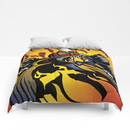 Firemen and Conflagration Comforters