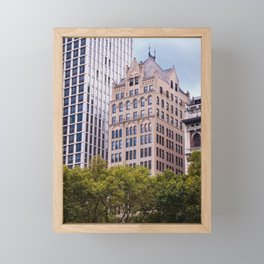 The City and the History Framed Mini Art Print