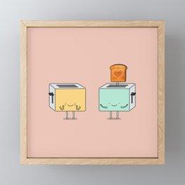 I loaf you! Framed Mini Art Print