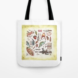 Collection of Shiny Objects Tote Bag
