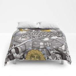 Roller Coaster Ride Comforters
