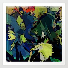 Garden Colors Art Print