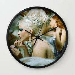 Las Vegas Showgirls 1960 Wall Clock