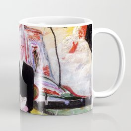 "Florine Stettheimer ""Henry McBride, Art Critic"" Coffee Mug"