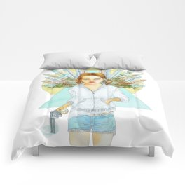 Angel with a gun Comforters