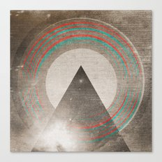Stereo Induction Canvas Print