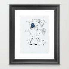 lovely breakfast Framed Art Print