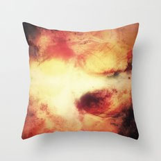 A Vibrant Journey Throw Pillow