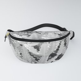 Cactus Pattern (Grey version) Fanny Pack