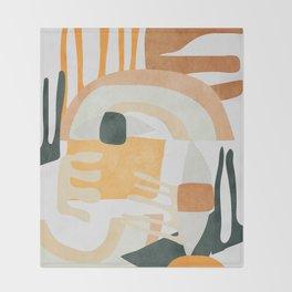 Abstract Art 10 Throw Blanket