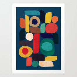 Miles and miles Art Print