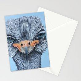 Tessa, the Somali Ostrich Stationery Cards