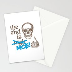 The End Is Nice Stationery Cards