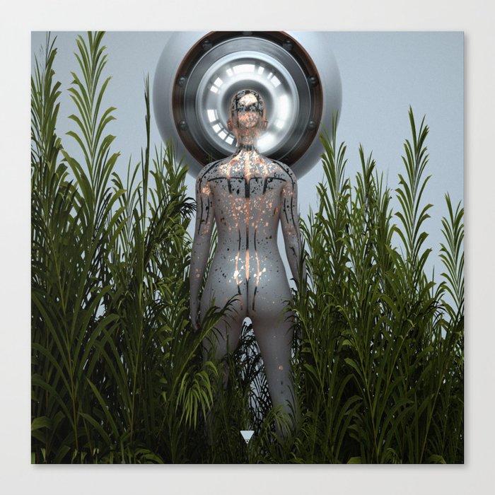 GREETINGS ∀ Canvas Print