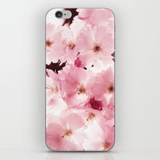 Spring Sky Flora Pattern iPhone & iPod Skin