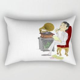 """Kisses on the Bottom"" by Virginia McCarthy Rectangular Pillow"