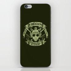 Greedo's Shooting Academy - Star Wars iPhone & iPod Skin