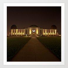 The Observatory!  Art Print