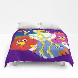 Marilyn Chicken Comforters
