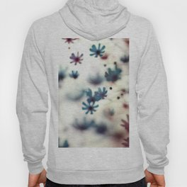 Cosmos Flowers. Floral Dance in the Wind Hoody