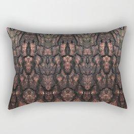 Red Conversations Rectangular Pillow