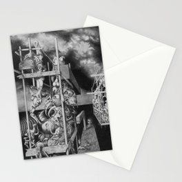 CTHULHU MONUMENTS Stationery Cards
