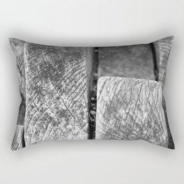 Wavy wood Rectangular Pillow