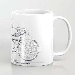 Bultaco Vintage Motorcycle Coffee Mug