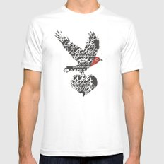 Gifts White MEDIUM Mens Fitted Tee
