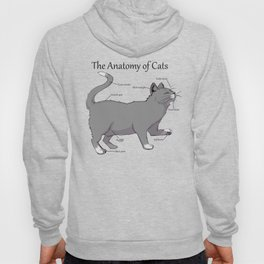 The Anatomy of Cats Hoody
