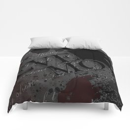 """Quoth the Raven, """"Nevermore."""" Comforters"""