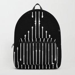 Geo / Black Backpack