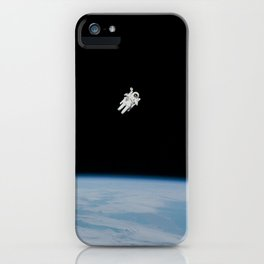 Space Walk Exploration iPhone Case